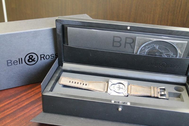 ベル&ロス BR01-92 エアボーンⅡ 買取いたしました