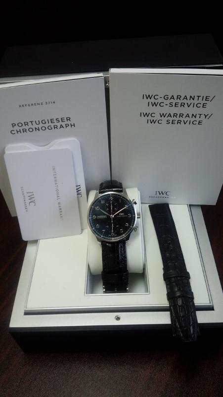 IWC ポルトギーゼクロノ IW371447 買取いたしました