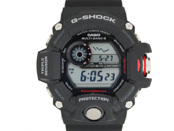 カシオ G-SHOCK RANGEMAN GW-9400J を買取いたしました。
