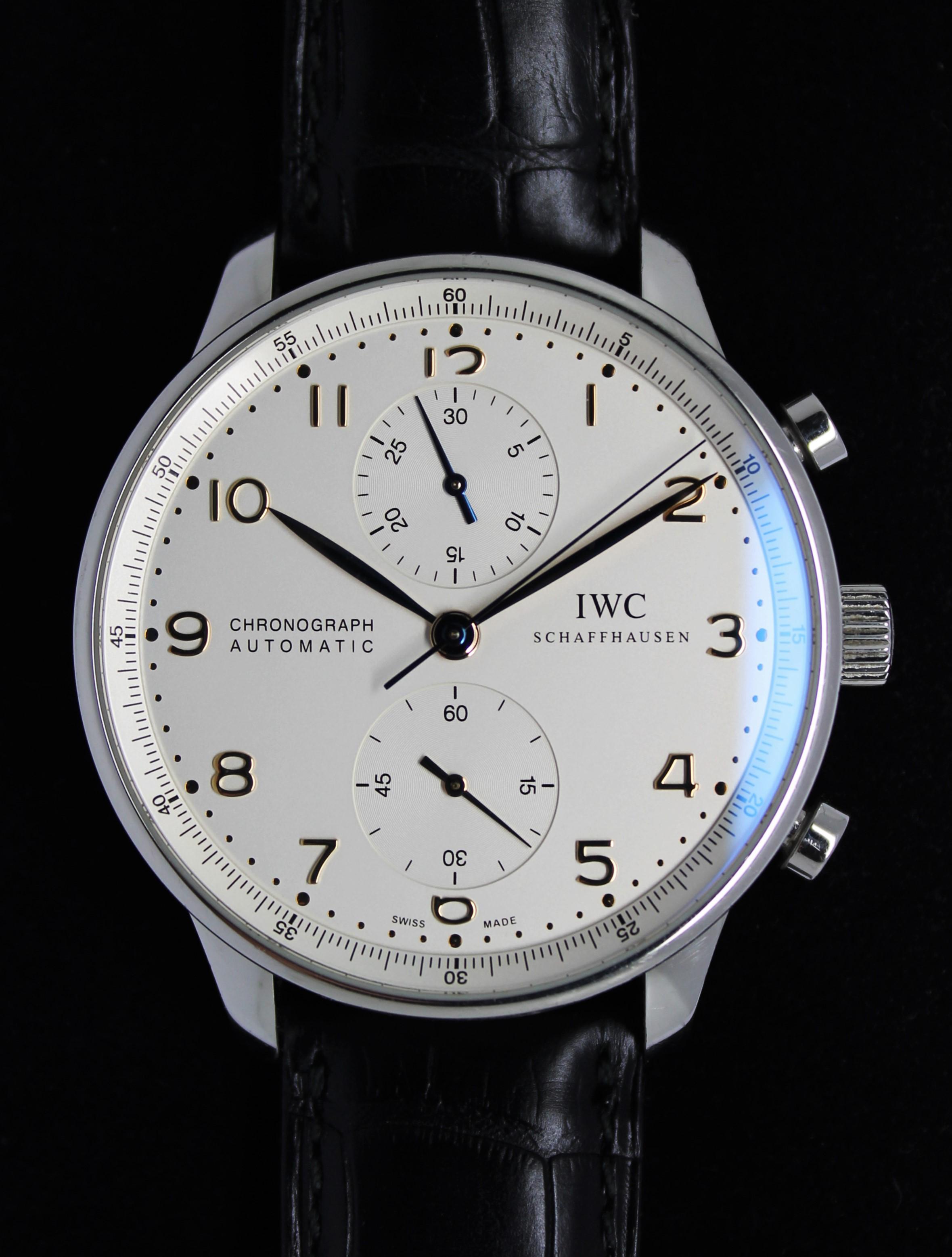 IWC ポルトギーゼ IW371401 買取致しました