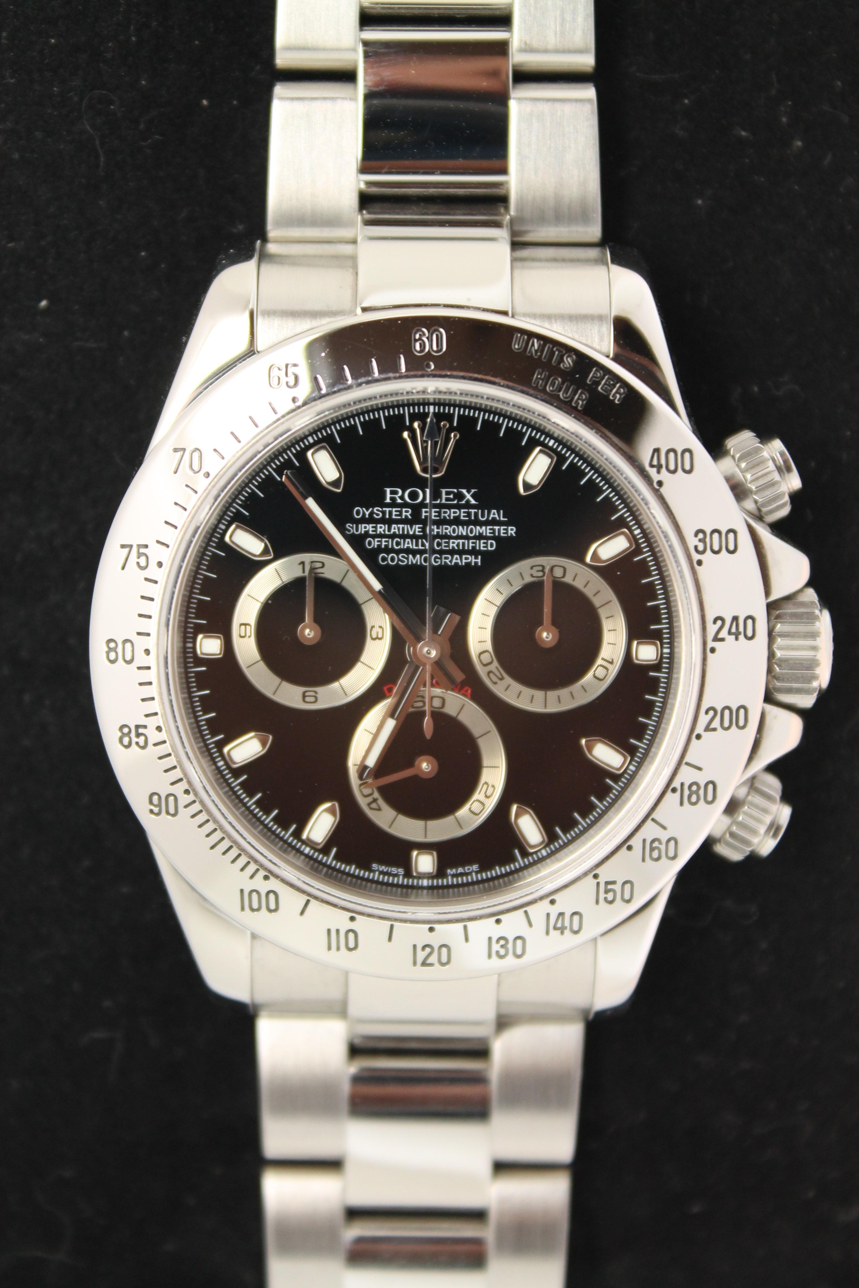 ロレックス デイトナ 116520 を買取致しました