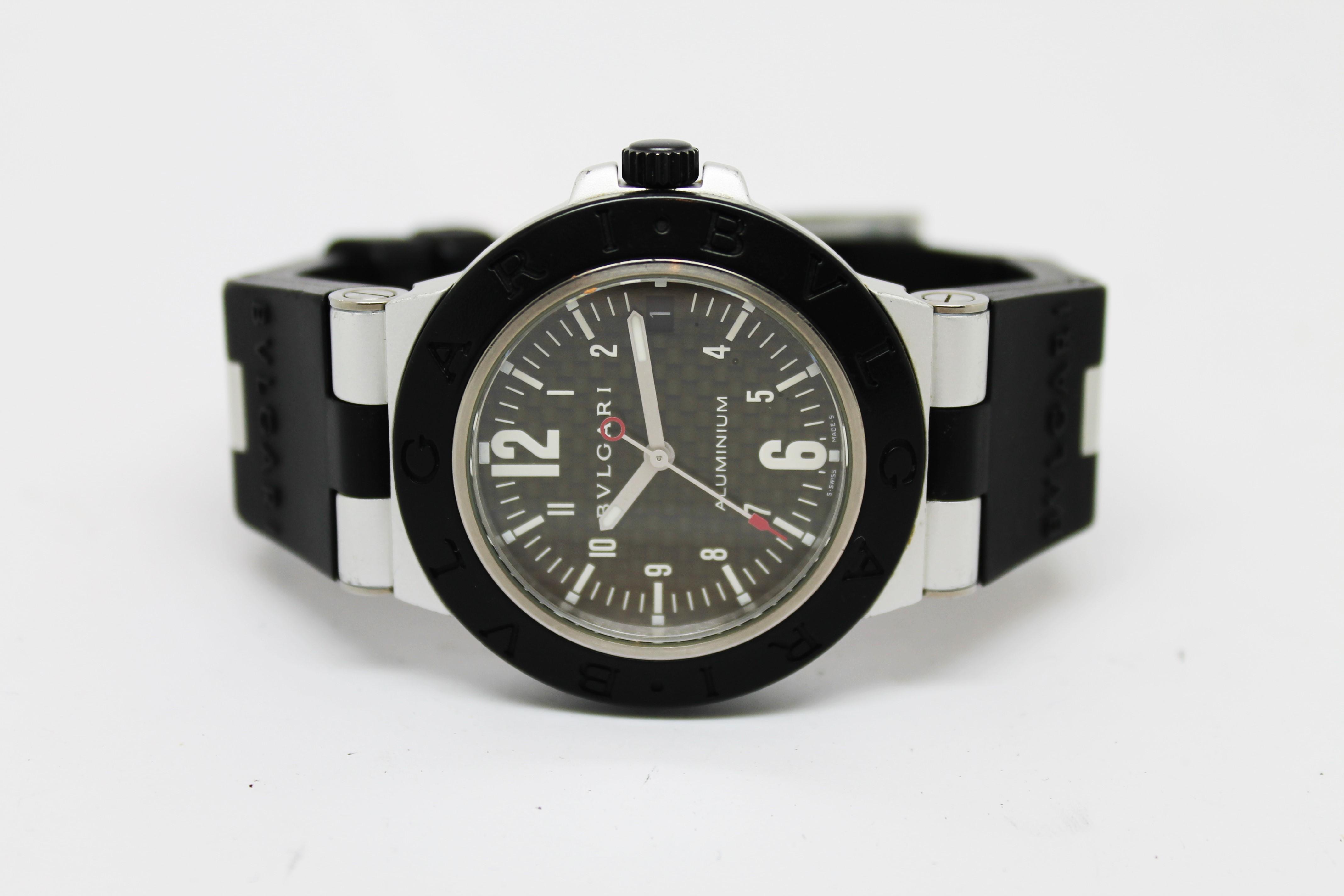new concept 92ad5 ee1e1 ブルガリ アルミニウム AL38TA 買取|時計買取.bizの宅配買取 ...