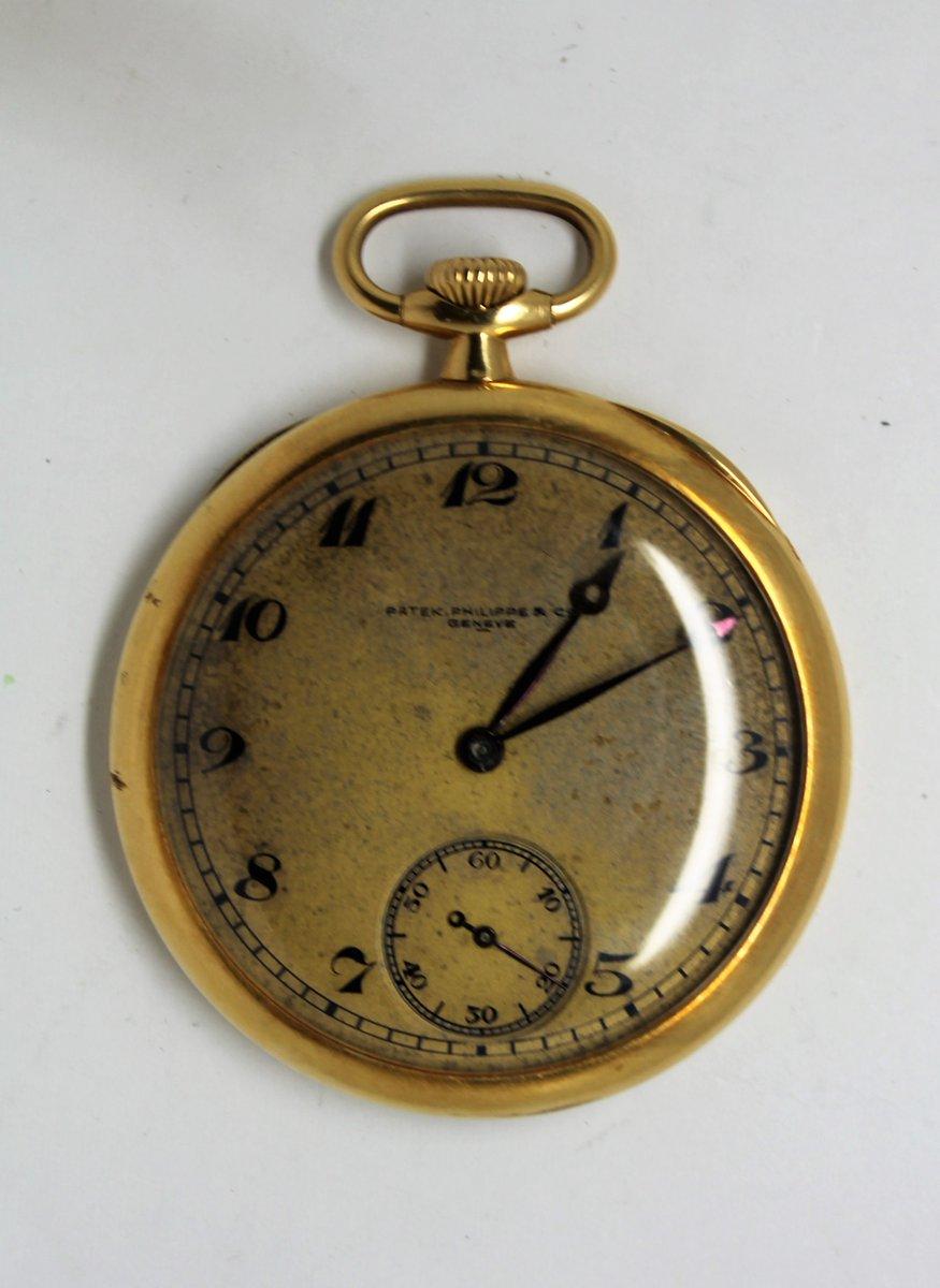 パテックフィリップ アンティーク懐中時計 買取致しました
