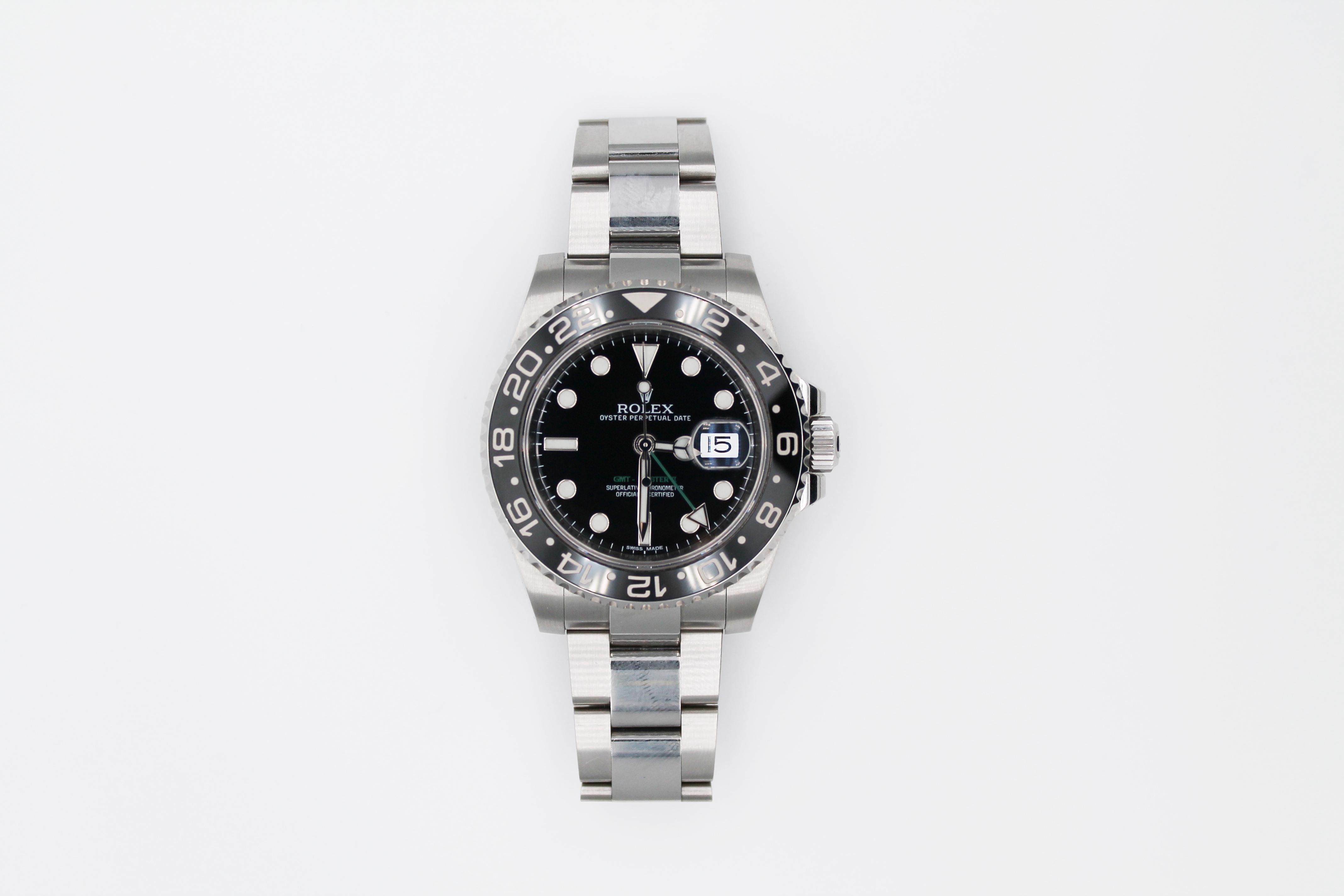 ロレックス GMTマスターII 116710LN 買取致しました