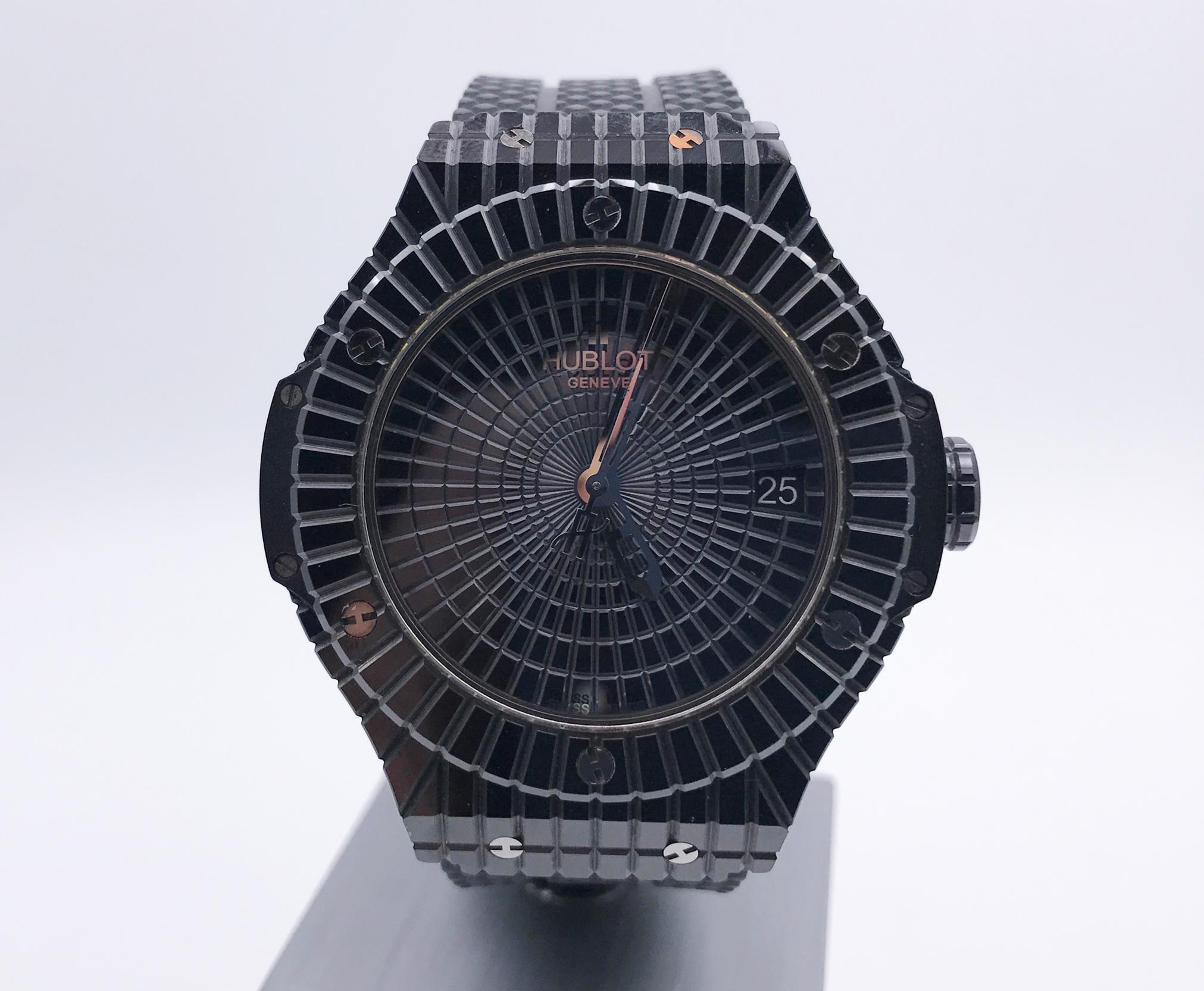 ウブロ ビッグバン ブラックキャビア  346.CX.1800.RX 買取致しました