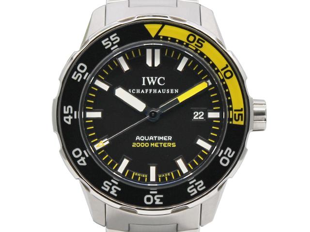 IWC アクアタイマー IW356808を売却