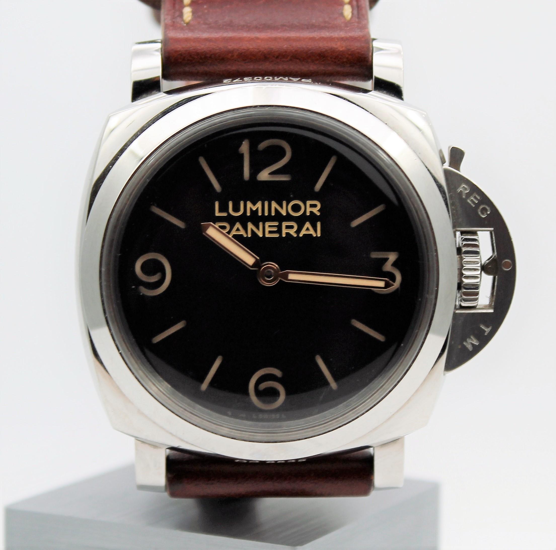 パネライ ルミノール 1950 3デイズ PAM00372 買取致しました