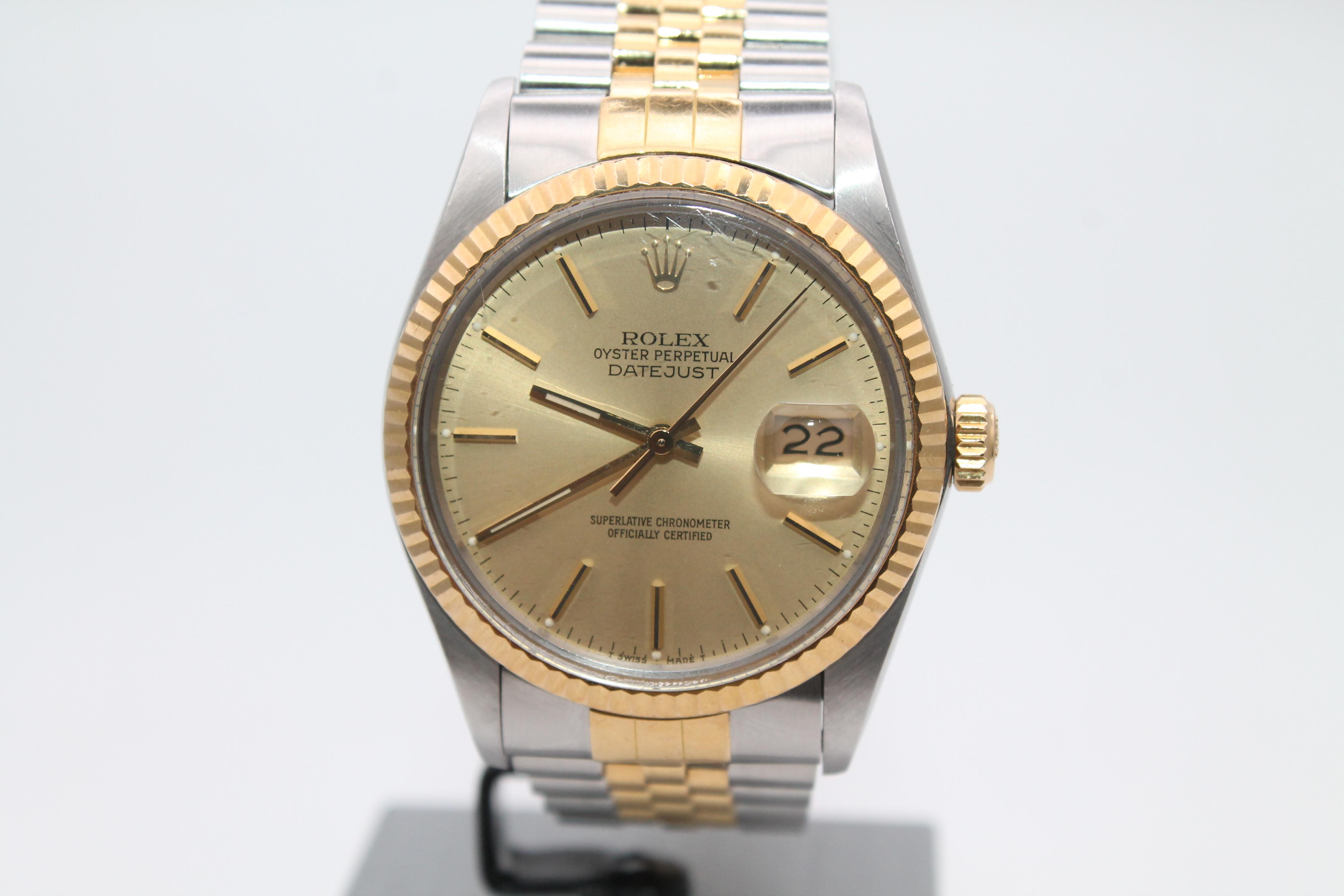 wholesale dealer 281e7 81031 ロレックス デイトジャスト 16233 買取|時計買取.bizの宅配買取 ...