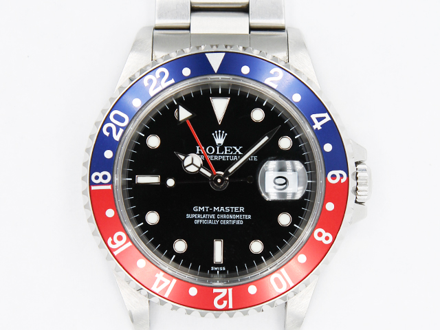 online retailer 83f16 9ed89 ロレックス GMTマスター 16700 買取|時計買取.bizの宅配買取 ...