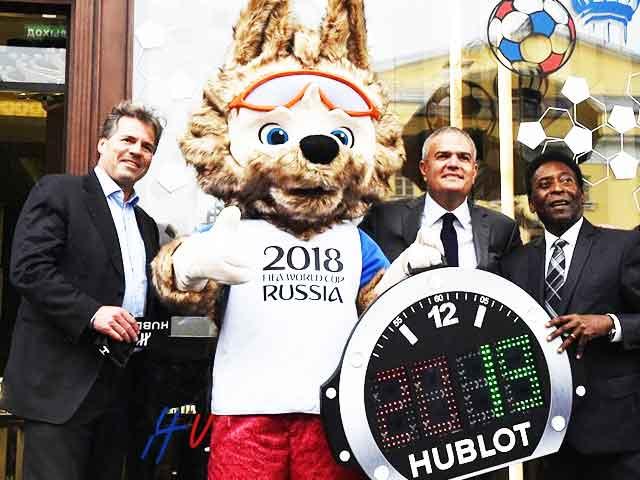 FIFAワールドカップ-ロシア大会-でHUBLOTが目立ちすぎている件。