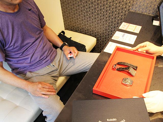 埼玉県のお客様よりフランクミューラー ヴァンガード V45SCDTを385,000円にて買取いたしました