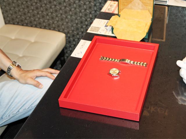 東京都のお客様よりロレックス エアキング 14000 ドミノピザWネームを390,000円にて買取いたしました