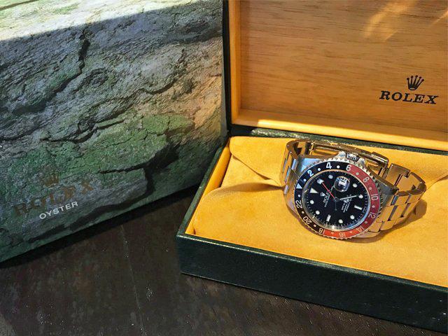 9月24日、高知県のお客様よりロレックス GMTマスターII 16710を買取いたしました