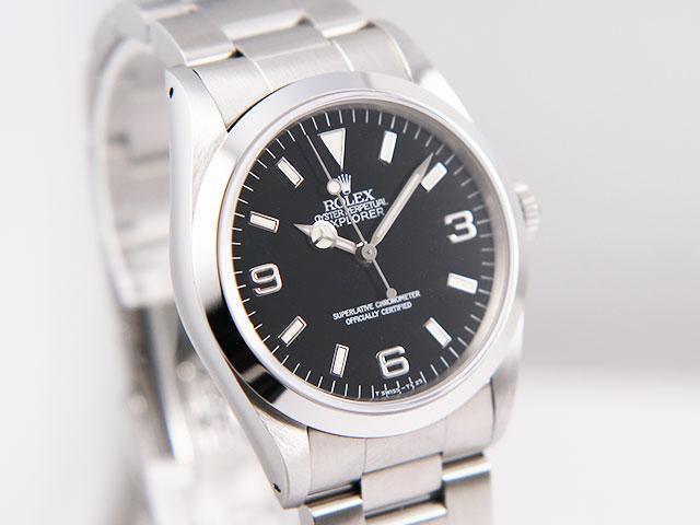 online store 92f07 b225e ロレックス エクスプローラーⅠ 14270の買取価格が高騰してい ...