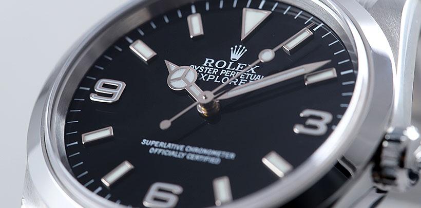 ロレックス エクスプローラー1【Ref.14270】の資産価値について動向を調べ続けています