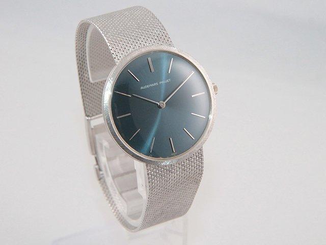 オーデマピゲ ホワイトゴールド手巻き時計 を売却