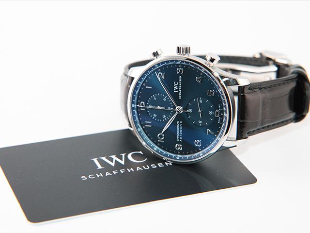 1月23日、東京都のお客様より、IWC ポルトギーゼクロノ IW371491を買取いたしました