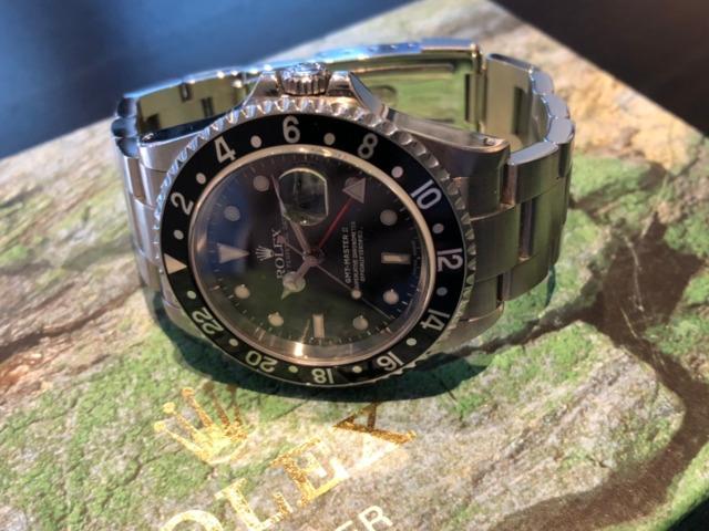 ロレックス GMTマスター 16710を売却