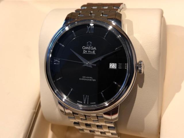 オメガ デ・ヴィル プレステージ 424.10.40.20.01.001を千葉県のお客様より買取いたしました