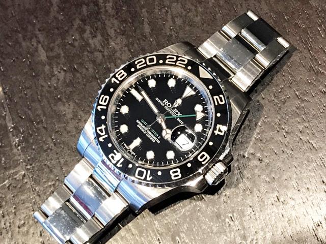 ロレックス GMTマスターII 116710LNを福岡県のお客様より買取いたしました