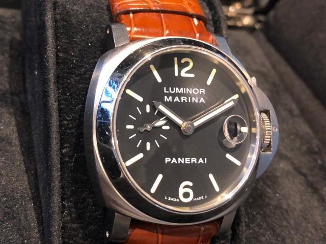 パネライ ルミノール マリーナ PAM00048を大阪府のお客様より買取いたしました