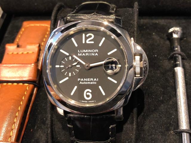 パネライ ルミノール マリーナ PAM00104を新潟県のお客様より買取いたしました