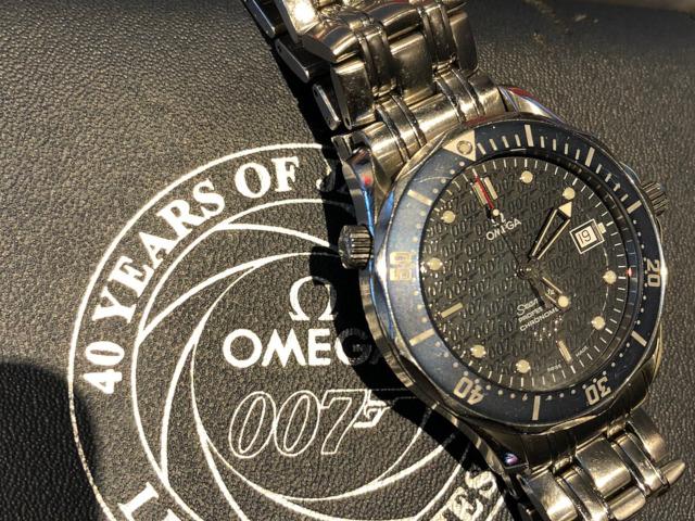 オメガ シーマスター300 ジェームズボンド 007 2537.80を京都府のお客様より買取いたしました