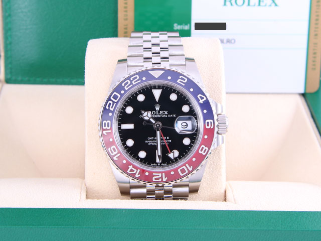 ロレックス GMTマスターⅡ 126710BLROを埼玉県のお客様より買取いたしました
