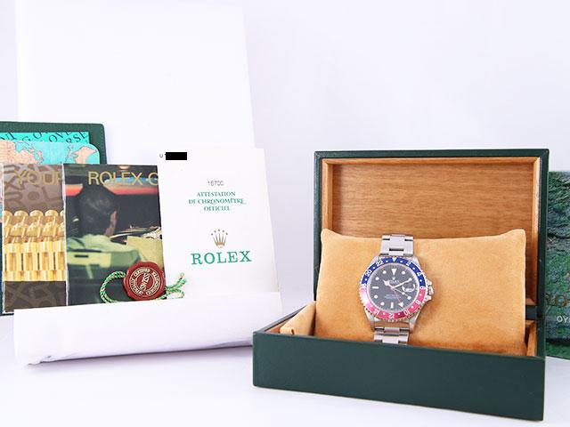 ロレックス GMTマスターⅠ 16700を茨城県のお客様より買取いたしました