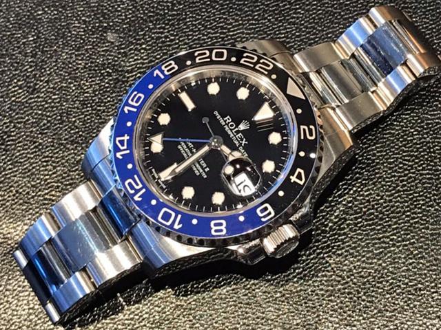 ロレックス GMTマスターII 116710BLNRを千葉県のお客様より買取いたしました