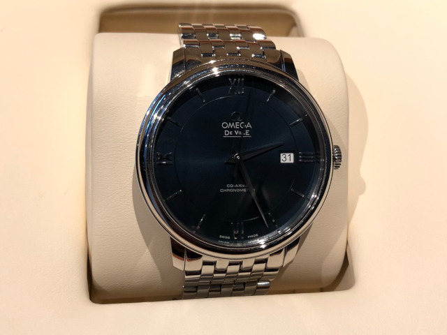 オメガ デ・ヴィル プレステージ コーアクシャル 424.10.40.20.03.001を滋賀県のお客様より買取いたしました