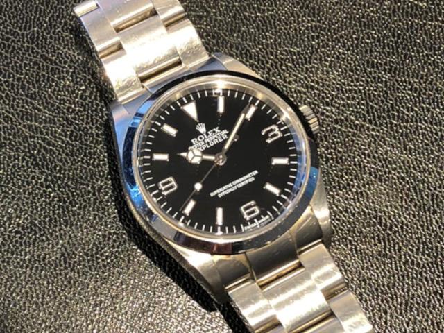 ロレックス エクスプローラーI 114270を新潟県のお客様より買取いたしました