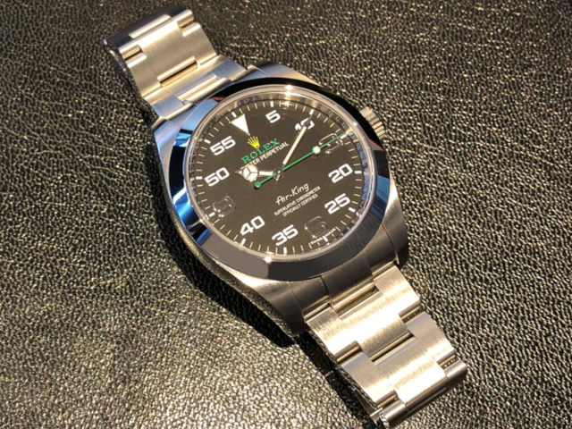 ロレックス エアキング 116900を大阪府のお客様より買取いたしました