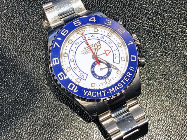 ロレックス ヨットマスターII 116680を神奈川県のお客様より買取いたしました