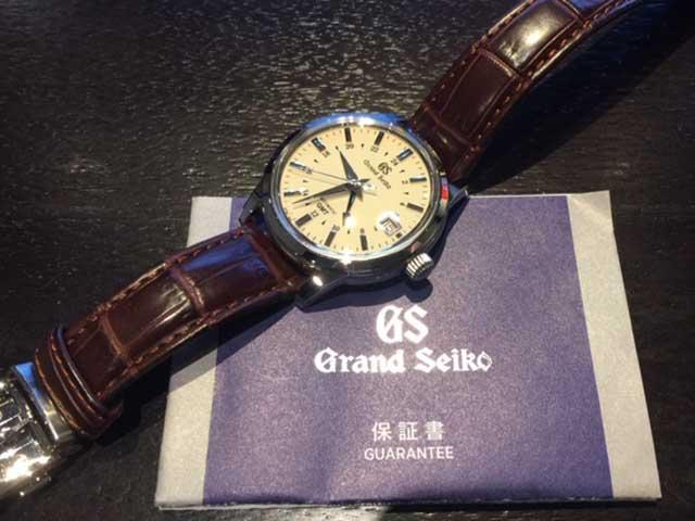グランドセイコー 9Sメカニカル GMT SBGM221を大阪府お客様より買取いたしました