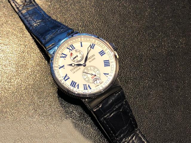 ユリスナルダン マリーン 1183-126を大阪府のお客様より買取いたしました