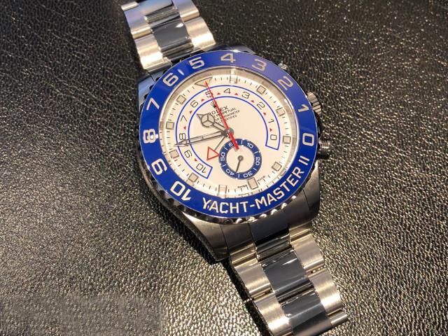 ロレックス ヨットマスターII 116680を東京都のお客様より買取いたしました