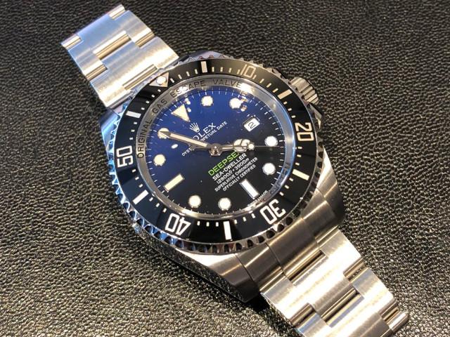 ロレックス シードゥエラー ディープシー 116660Dブルーを東京都 のお客様より買取いたしました