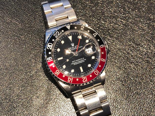 ロレックス GMTマスターⅡ 16710を東京都のお客様より買取いたしました