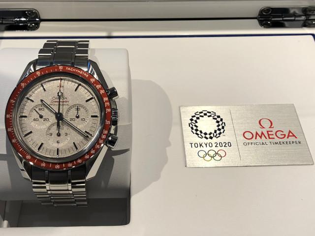 オメガ スピードマスター スペシャリティーズ オリンピックコレクション 東京2020 522.30.42.30.06.001を埼玉県のお客様より買取いたしました