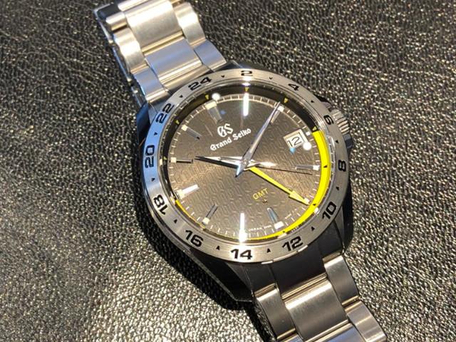 グランドセイコー キャリバー9F GMT 25周年記念限定モデル SBGN001を東京都のお客様より買取いたしました