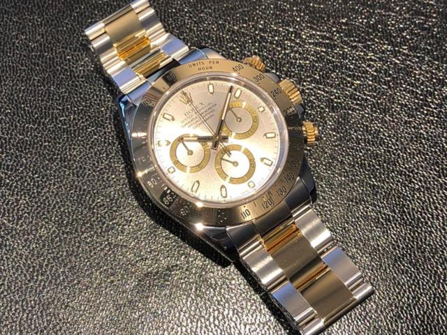 ロレックス デイトナ 16523を千葉県のお客様より買取いたしました