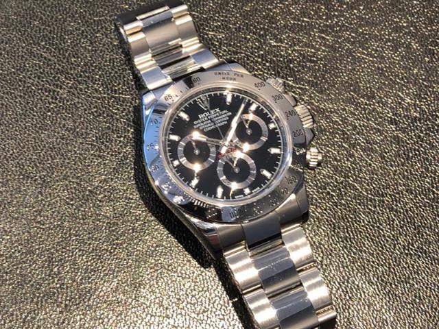 ロレックス デイトナ 116520を東京都のお客様より買取いたしました