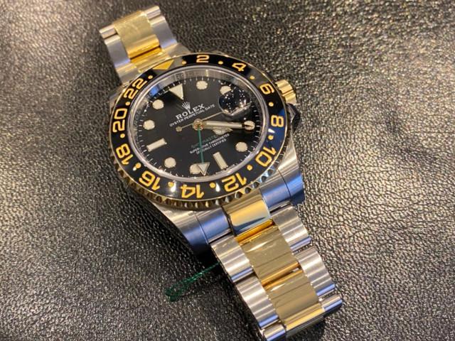 ロレックス GMTマスターII 116713LNを埼玉県のお客様より買取いたしました