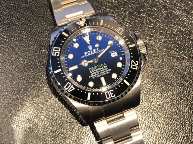 ロレックス シードゥエラーディープシー Dブルー 116660を神奈川県のお客様より買取いたしました