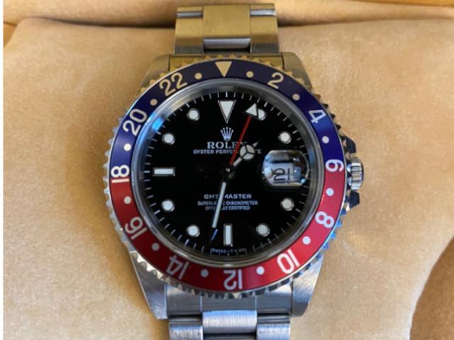 ロレックス GMTマスターⅠ 16700を東京都のお客様より買取いたしました