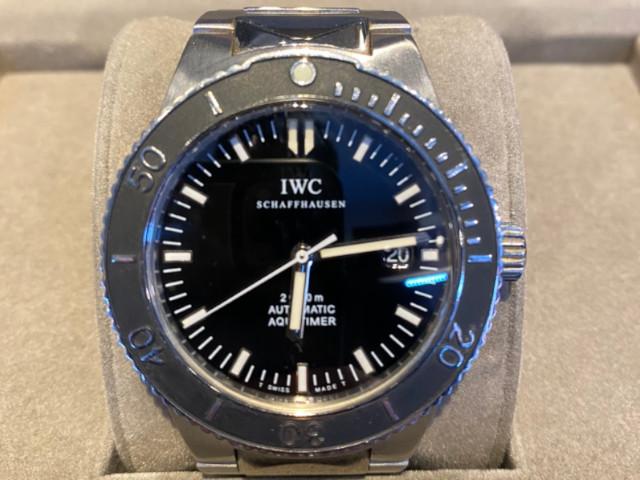 IWC アクアタイマー IW353602を東京都のお客様より買取いたしました