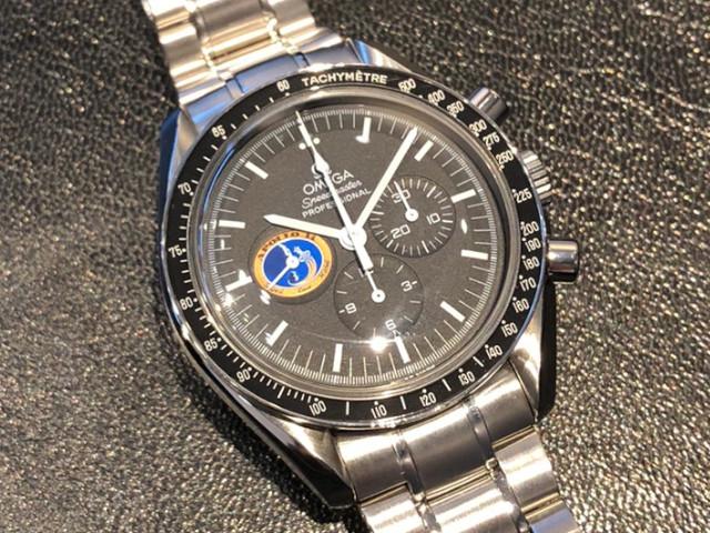 オメガ スピードマスター アポロ14号 3597.17を東京都のお客様より買取いたしました