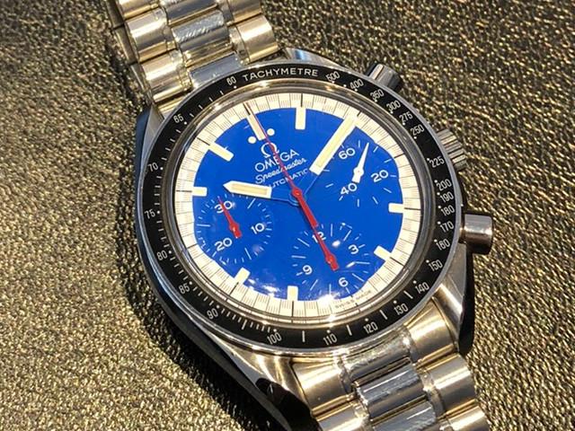 オメガ スピードマスター レーシング ミハエル・シューマッハ 3510.81を福岡県のお客様より買取いたしました