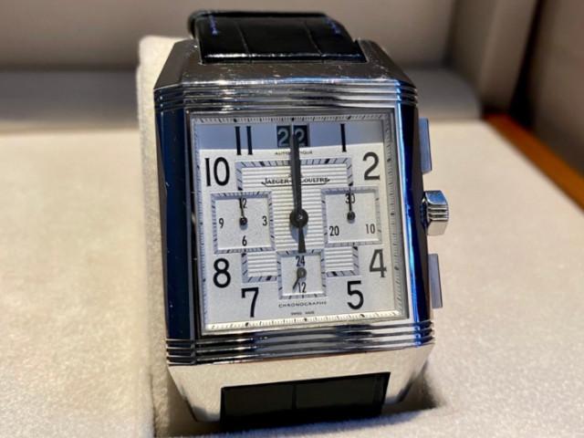 ジャガールクルトレベルソ スクアドラ クロノグラフ GMT Q7018420を島根県のお客様より買取致しました